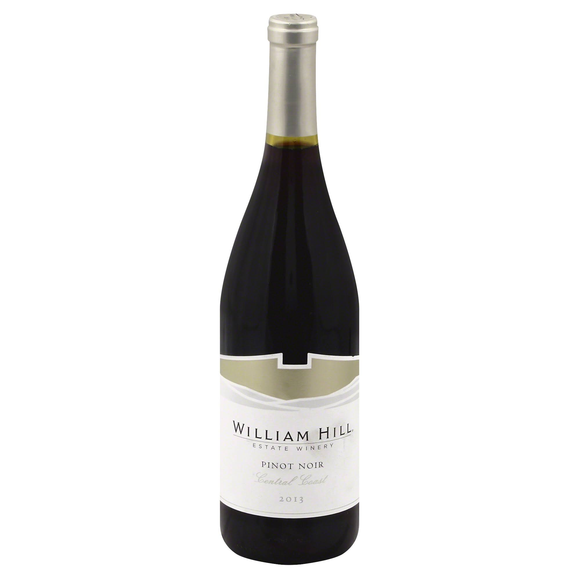 William Hill Pinot Noir, Central Coast, 2013 - 750 ml