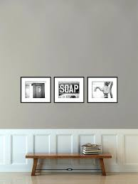 Shabby Chic Bathroom Wall Decor Vintage Sign Print Or Canvas Art Kitchen Home