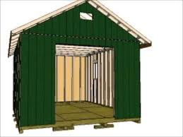 16x12 Shed Material List by 12x16 Gable Storage Shed Youtube