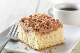 Gluten Free Cinnamon Streusel Coffeecake made with baking mix