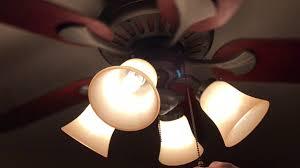 Harbor Breeze Ceiling Fan Light Bulb Change by 52