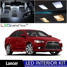 Amazon.com: LEDpartsNOW 2007-2015 Mitsubishi Lancer LED Interior ...