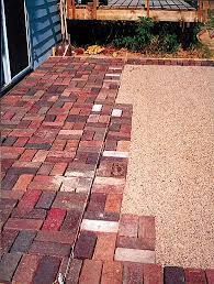 brick patio design ideas picking patio pavers consider climate costs and looks when