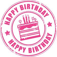 Stempel Birthday Clipart