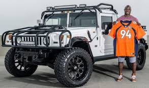 DeMarcus Ware's 2003 Hummer H1 Truck For Sale | Celebrity Cars ... 2003 Used Hummer H1 Truck Body Ksc2 2 Man Rare Model That Time I Traded An Audi S4 For A Hummer H1and 1994 4 Hard Top Sale In Orange County Ca Stock Front And Rear Differential Cover Sale Los Angeles 90014 Autotrader Military Humvee Hmmwv Utah Nationwide For Buying A Is Lot Harder Than You Might Think Rasheed Wallace Dreamworks Motsports Diy Am General Announces New 59995 Civilian Cseries 2000 Classiccarscom Cc704157