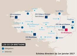 chambre de commerce de vannes une future carte consulaire régionale avec 4 ccit départementales