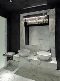 White Bathroom Wall Cabinets With Glass Doors by Grey Marble Bathroom Rectangle Shape Large Wall Mirror Shower With
