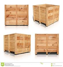 Wooden Crates Stock Photo Image Of Delivery Path Case