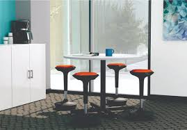 Office Cafeteria Break Room Furniture Sets Compel Brf Table And Chairs Multi Use Laminate Underlay Black