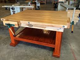 Old Woodworking Benches For Sale by Workbenches Wooden Workbenches Made In U S A