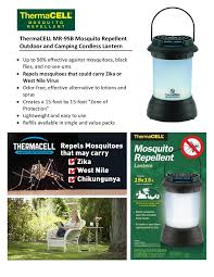 thermacell mosquito repellent pest control outdoor and cing