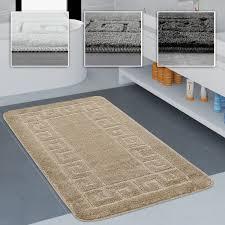 badzubehör textilien badezimmer teppich einfarbig