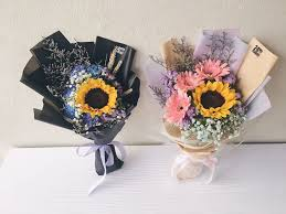 Song Korean Style Hand Bouquets