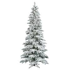 Pre Lit Flocked Artificial Christmas Trees by Best 25 9ft Christmas Tree Ideas On Pinterest Big Lots