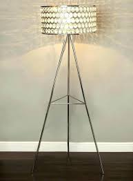 Overarching Floor Lamp Shade by Tall Rawhide Leather Floor Lamp Shade Rustic Shades Online India