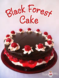 Bird A Cake Black Forest Cake with Chocolate Ganache
