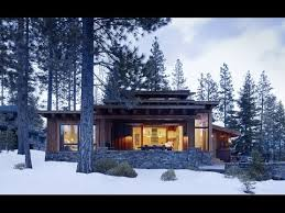 Modern Mountain Cabin Contemporary fort