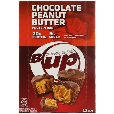 Yup B-Up Protein Bar - Chocolate Peanut Butter, 12pk, 2.3oz