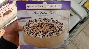 grotemeyer s konditorei nuss sahne torte kalorien