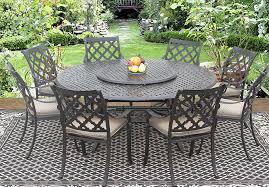 Cast Aluminum Outdoor Sets by Patioimport Camino Real Cast Aluminum Outdoor Patio 9pc Dining Set