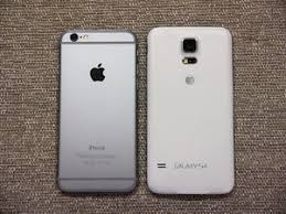 image from Apple iPhone 6 vs Samsung Galaxy S5