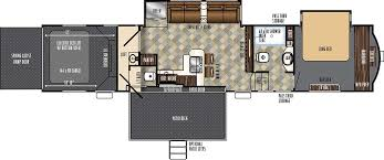Fifth Wheel Bunkhouse Floor Plans by Rvs Cheyenne Camping Center