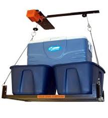 Hyloft Ceiling Storage Unit 30 Cubic Feet by Add Storage Space To Your Garage When You Have The Hyloft Garage