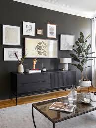 schwarze wandfarbe die 10 schönsten looks westwing