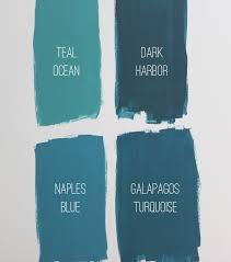 choosing a bedroom paint color benjamin teal harbor