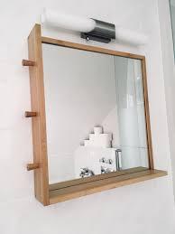 ikea badezimmer spiegel ragund bambus holz