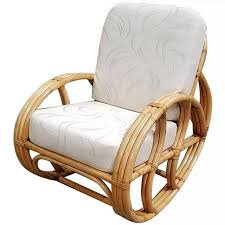 100 Final Sale Rocking Chair Cushions Restored Franco Albini Style Rattan With White