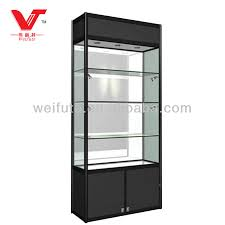 glass display cabinet with light buy display cabinet glass