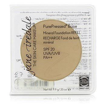 Jane Iredale PurePressed Base Natural Refill, SPF 20, Natural - 0.35 oz total