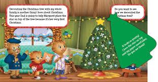 Christmas Tree Books For Kindergarten by Merry Christmas Daniel Tiger Book By Angela C Santomero