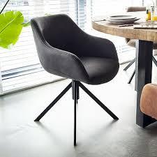 stuhl menno drehbar drehstuhl esszimmer esszimmerstuhl armlehnstuhl armlehne neu ebay
