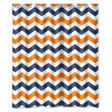 Chevron Print Curtains Walmart by Orange Shower Curtains U2013 Teawing Co
