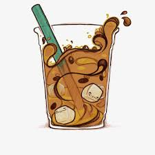 Iced Coffee Ice Drink Audio Frequency PNG Image And Clipart