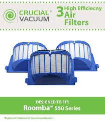 Bed Bath Beyond Roomba by Amazon Com 3 Irobot Roomba 500 Series Aerovac Blue Filters 536