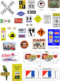 Clinton Cabinet Member Federico Crossword by Traffic Signs In Vector Format Model Railroad How To Pinterest