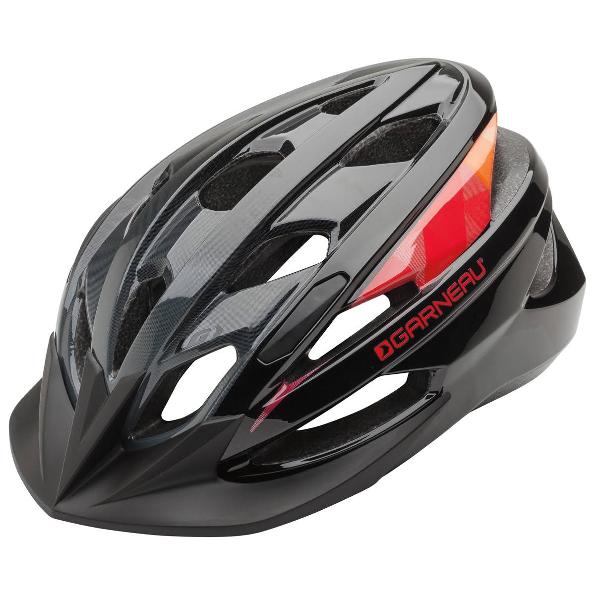 Louis Garneau Razz Cycling Helmet - Black