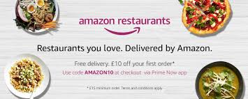 code promo amazon cuisine amazon launches restaurant delivery for prime members in