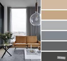 die besten wohnzimmerfarben neutrale und graue farbpalette