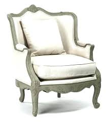 Off White Accent Chair French Country Rustic Cotton Arm Chairs Under 100 Dining Room Di
