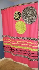 Sweet Jojo Zebra Curtains by Pink And Black Zebra Shower Curtain Pinkandblackobsession