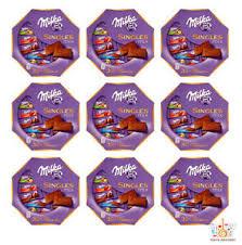 details zu 9 x milka singles assorted mix mini chocolate bars 138g 4 9oz