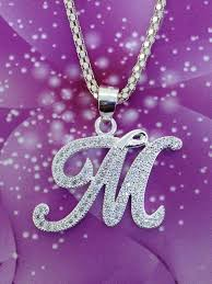Necklace with Letter M Pendant Manufacturer in manila Philippines