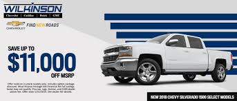 Wilkinson Cadillac Chevrolet Buick GMC In Sanford | Serving Raleigh ...