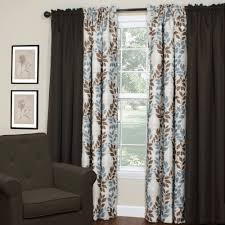Blue Blackout Curtains Walmart by Blue And Brown Curtains Walmart Shower Curtains Walmart Shower
