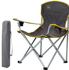 Amazon.com : Kaputar Durable Folding Camp Chair Quik Heavy ...