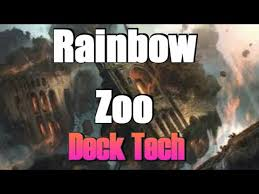 Zoo Mtg Deck List by Mtg Deck Tech Rainbow 5 Color Zoo In Battle For Zendikar